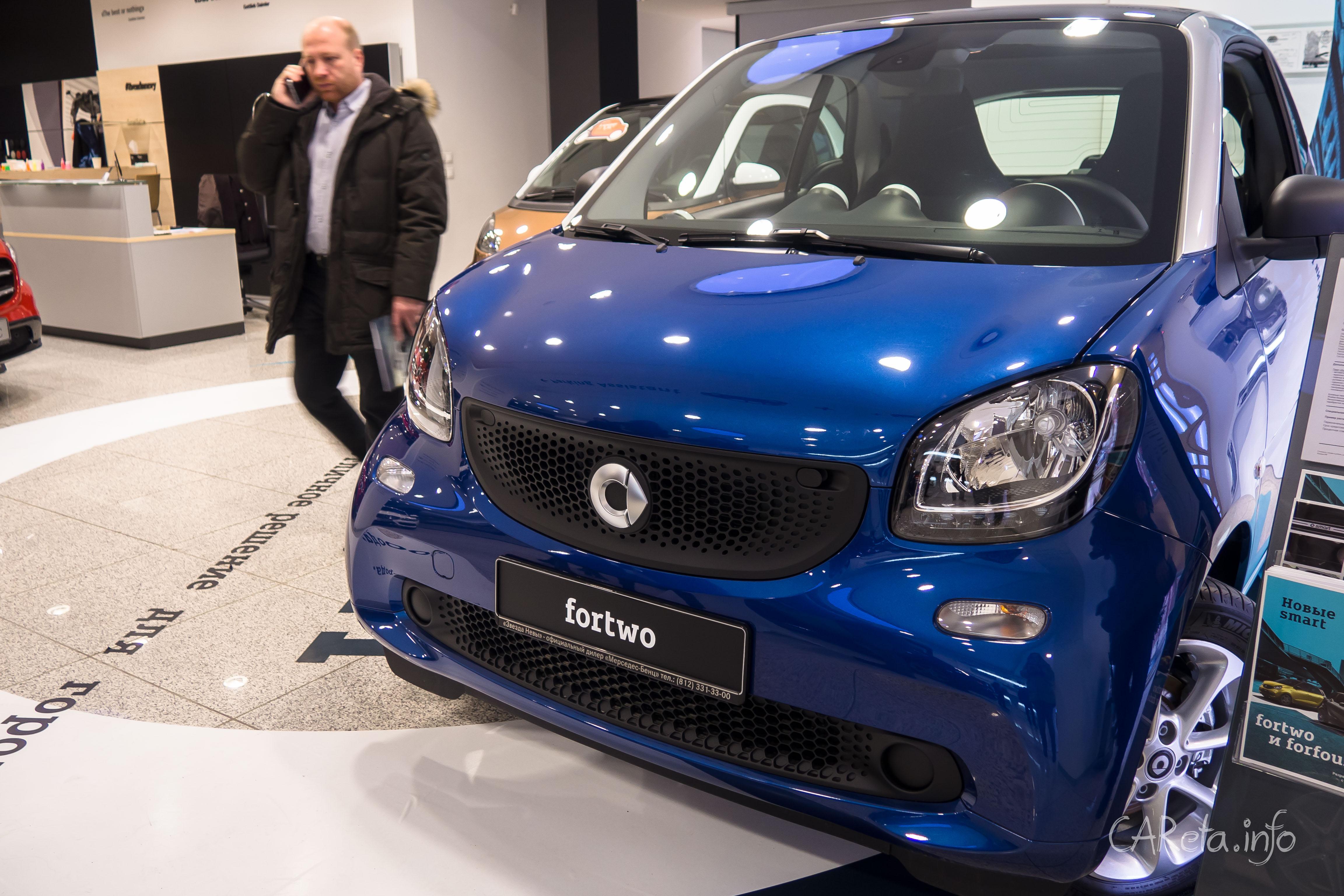 Mercedes для маленьких: Новое поколение Smart