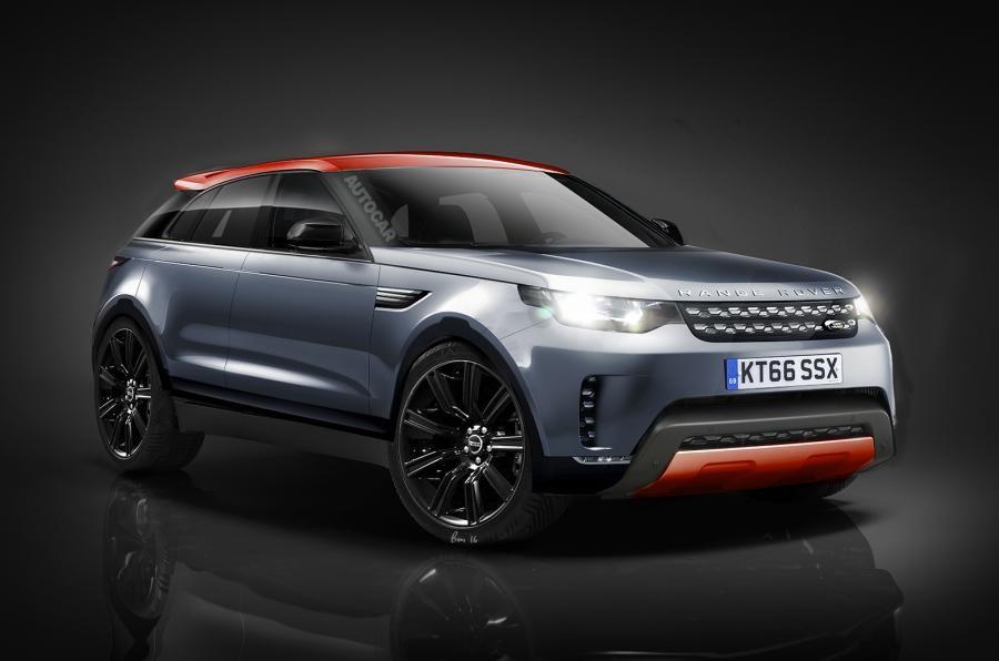 Range Rover подвинет BMW: немного о новом RR Sport Coupe