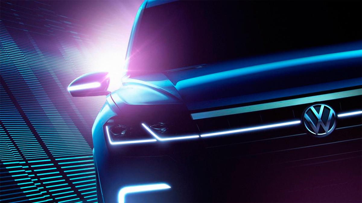 Новый внедорожник от Volkswagen