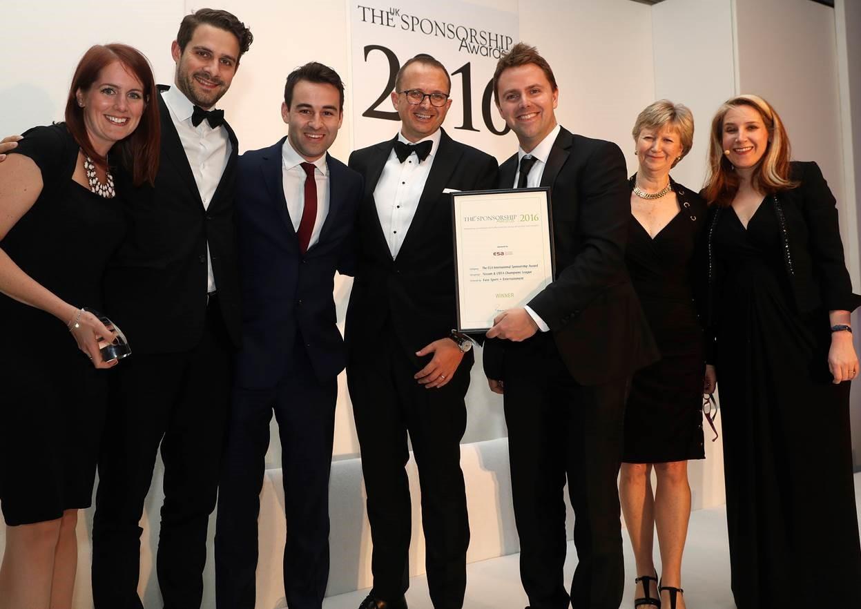 Nissan и UEFA получили премию ESA