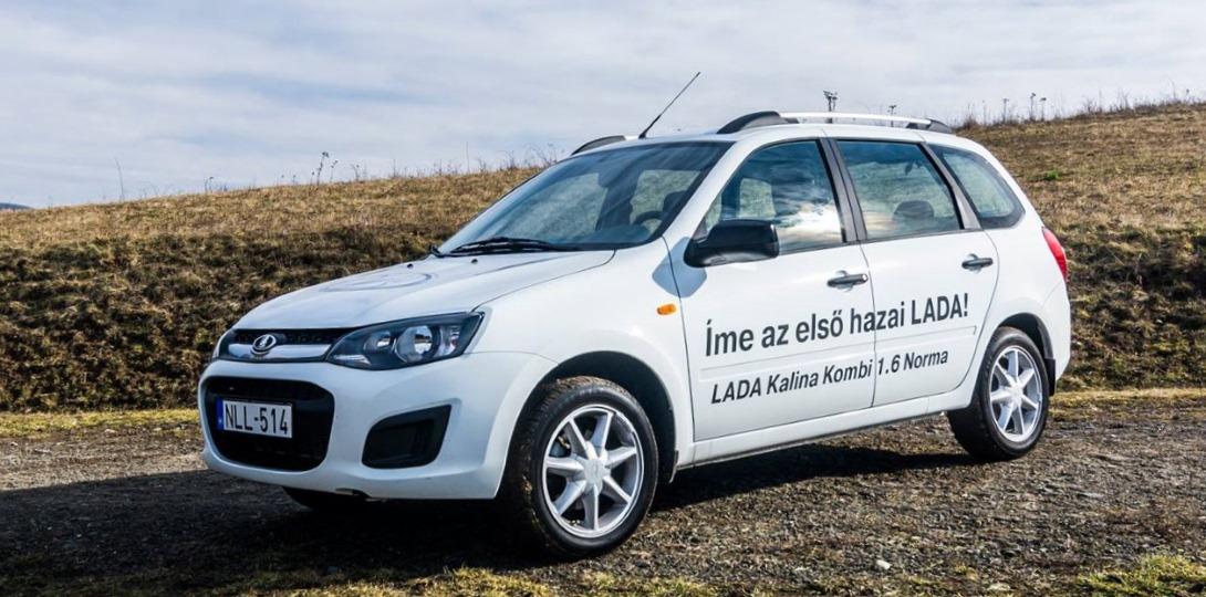 Пятьсот машин LADA в Венгрии