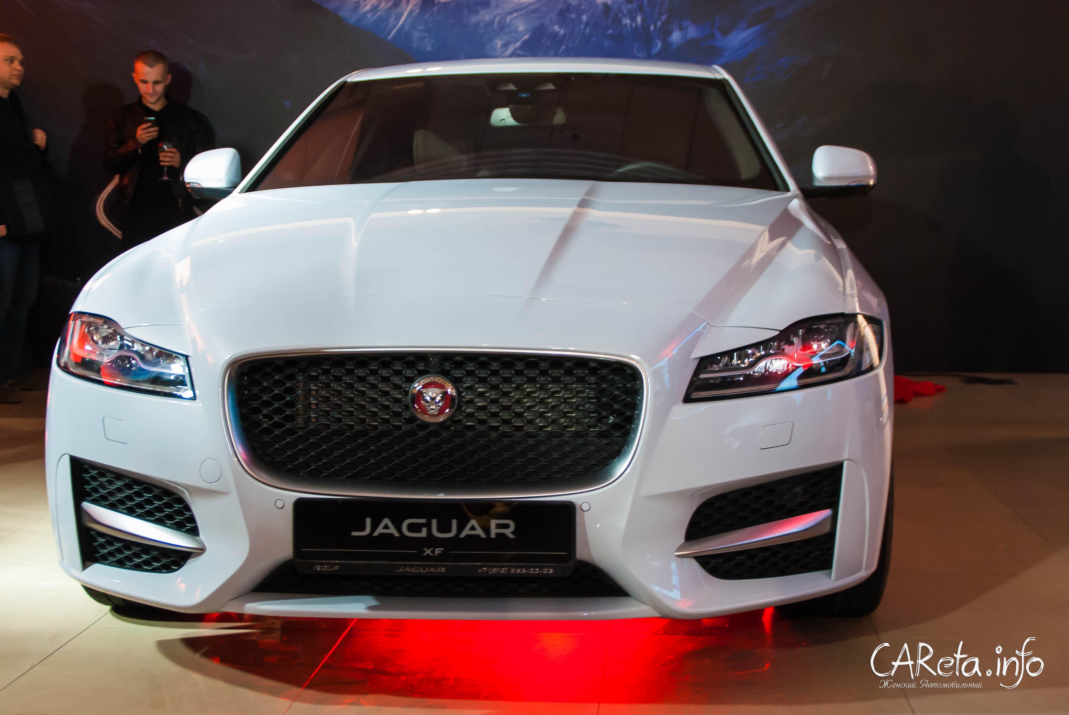 Оторвемся по-питерски! Презентация Jaguar XF в РОЛЬФ Октябрьская