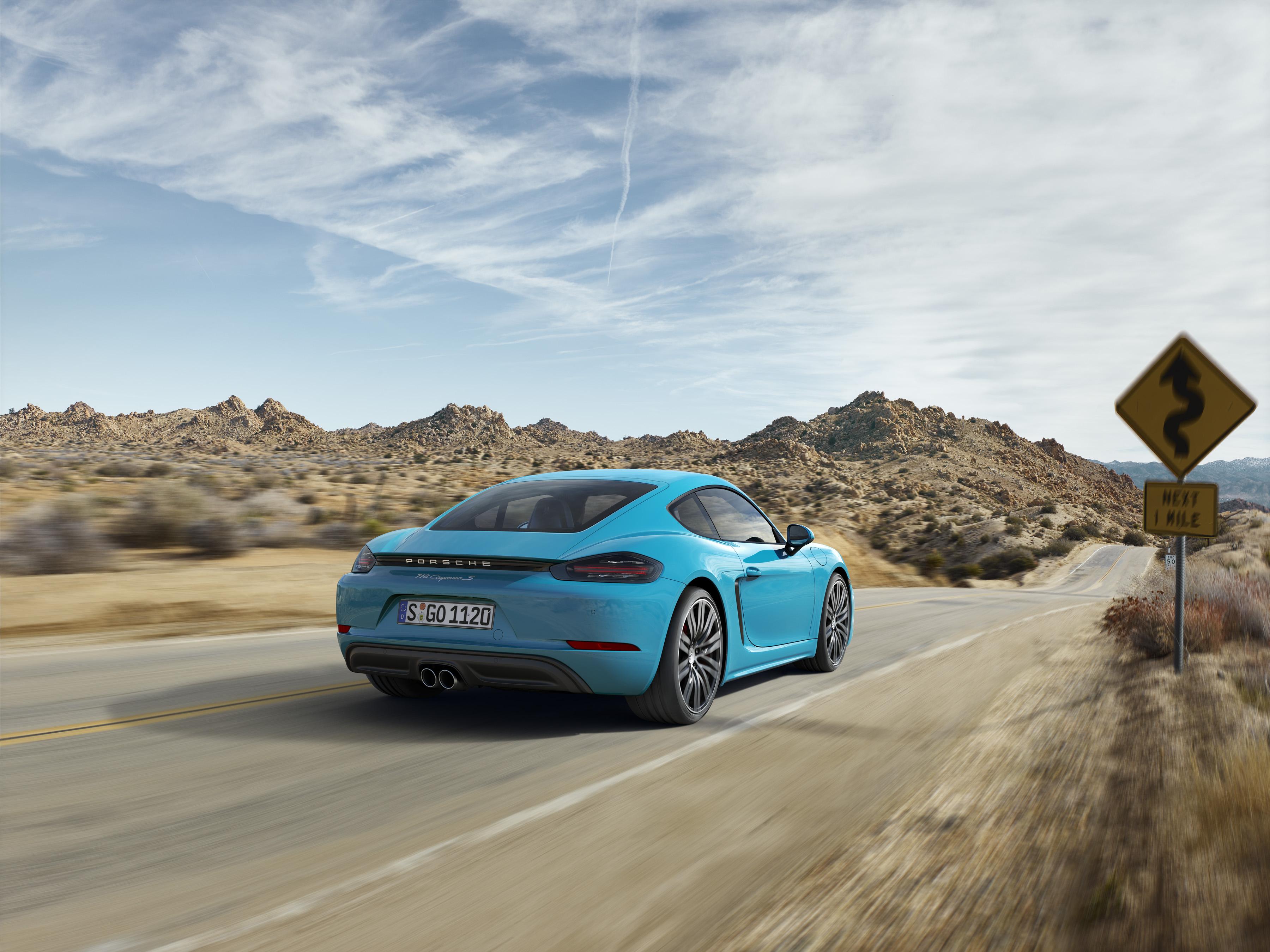 Материал о Porsche 718 Cayman, возбуждающий желание