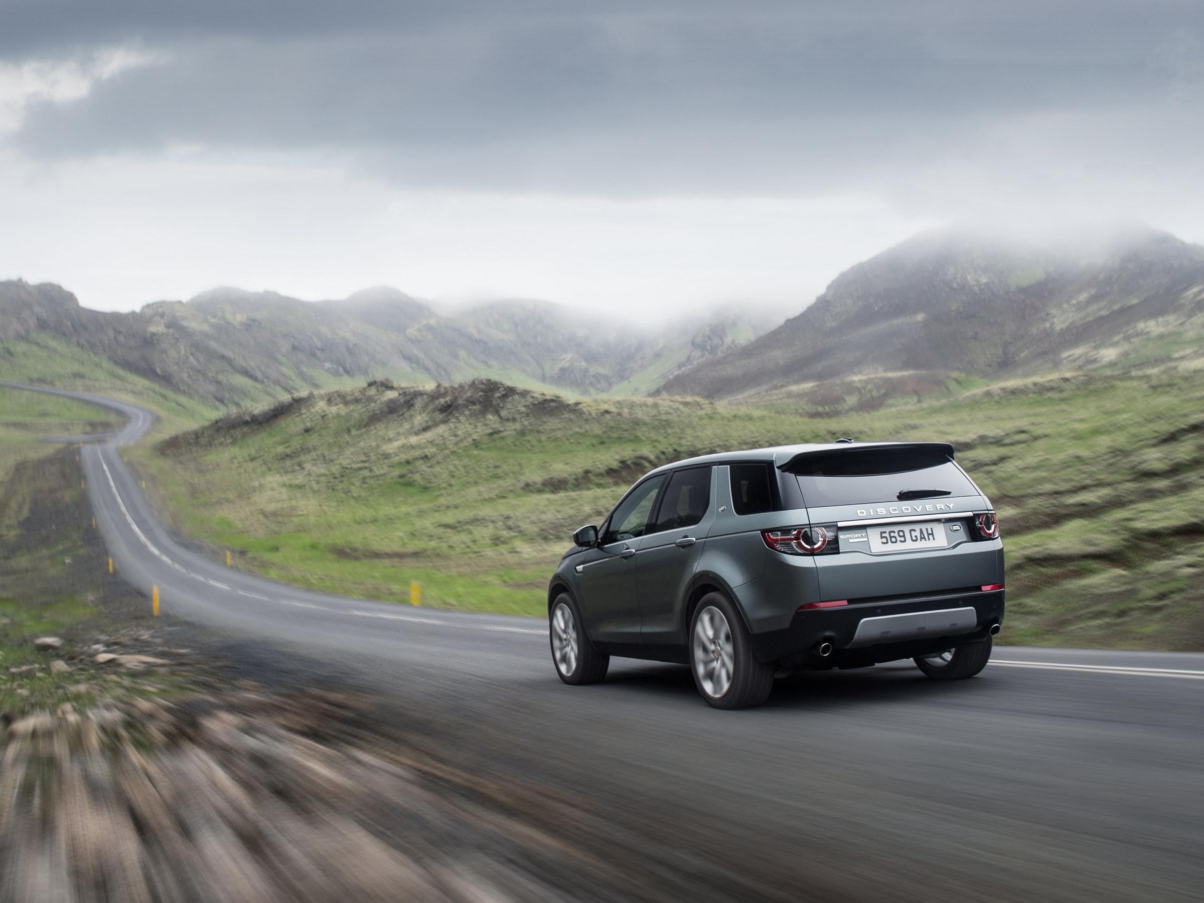 Новый Discovery Sport: главная новинка - не в машине