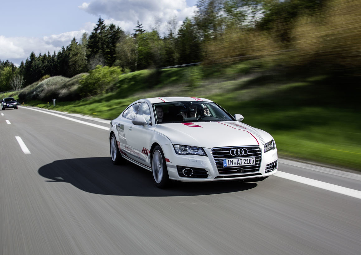 Audi Jack - очеловеченный автопилот