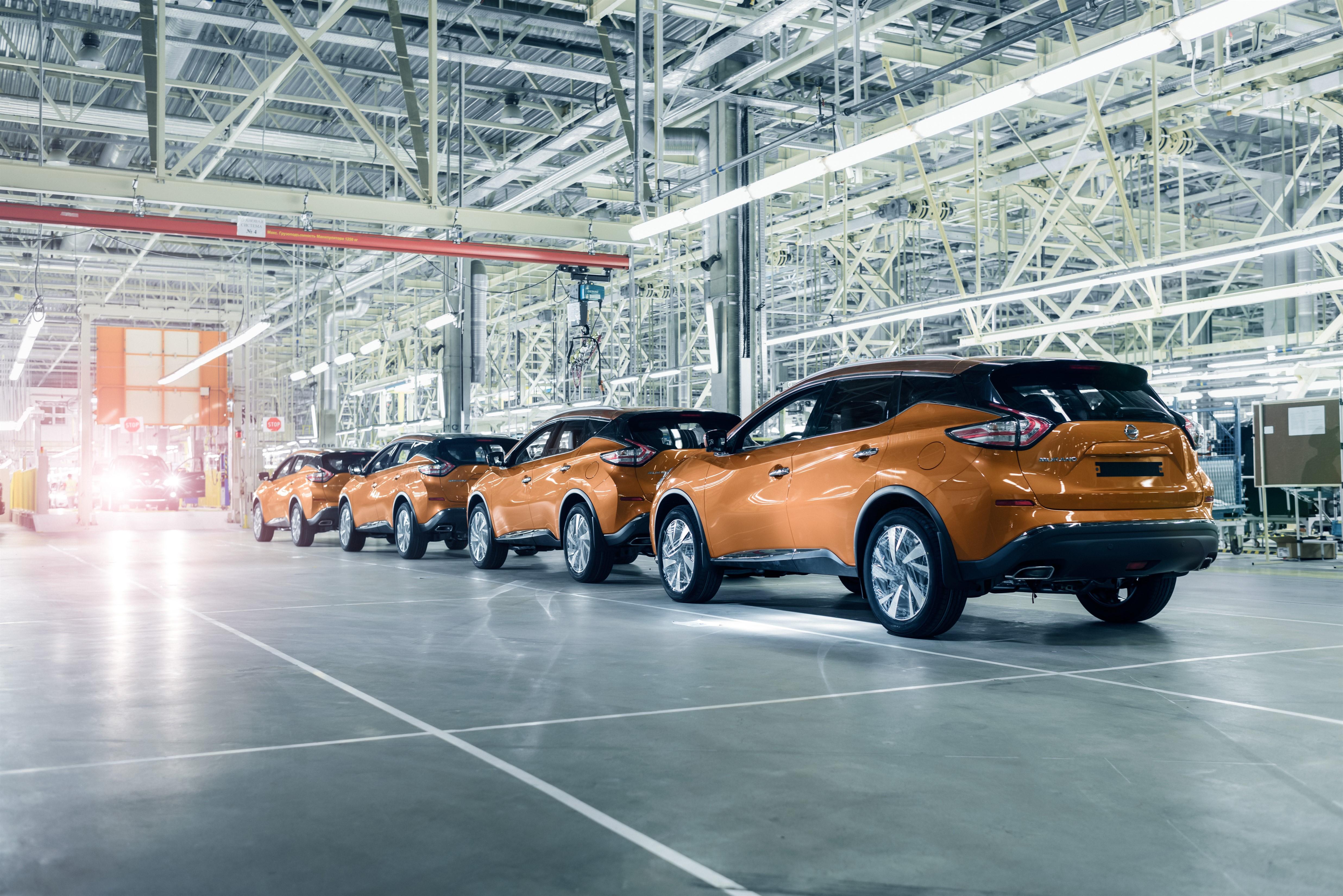 Старт производства нового Nissan Murano: только сухие факты