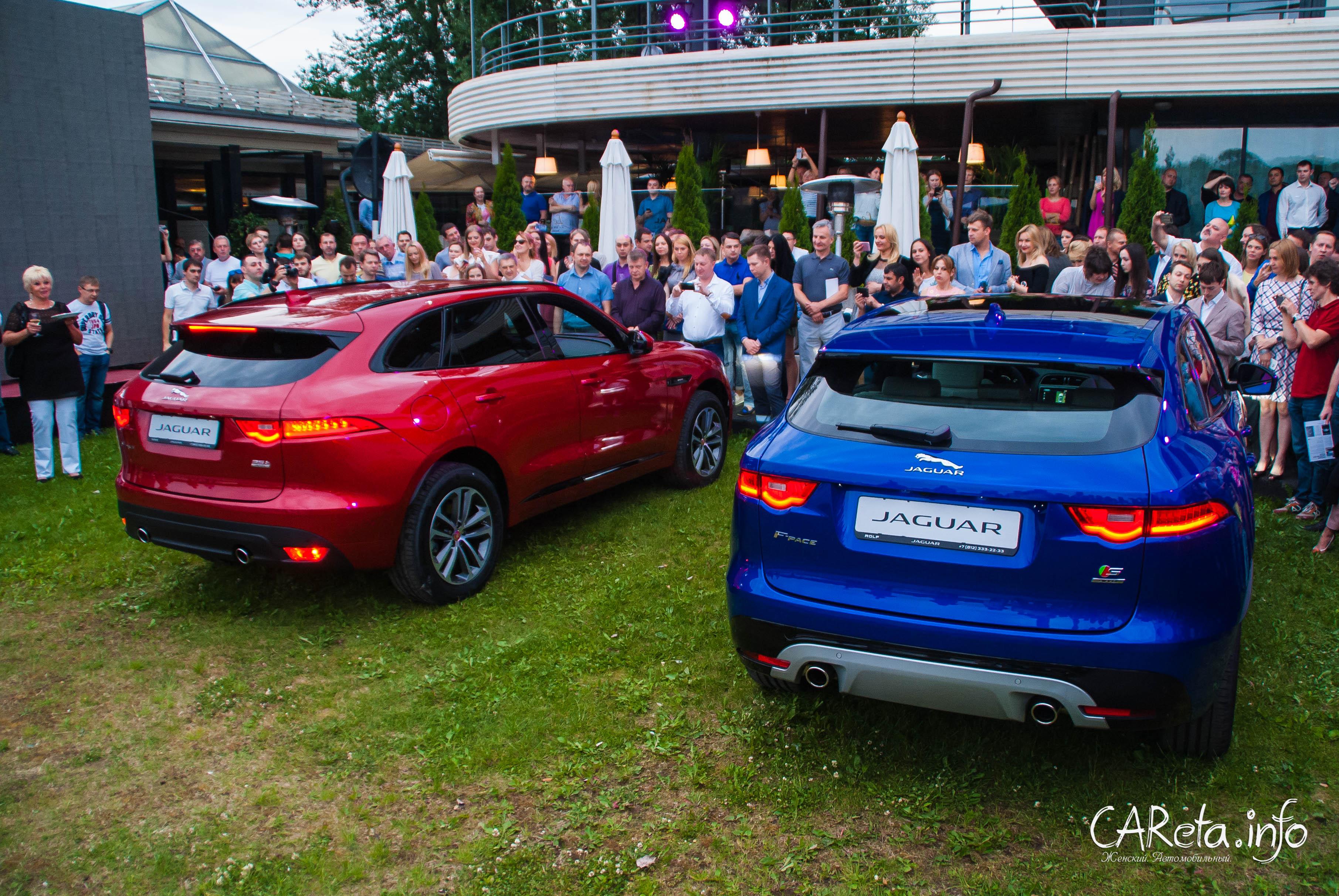 Долгожданный Jaguar F-PACE показан публике и готов к продажам