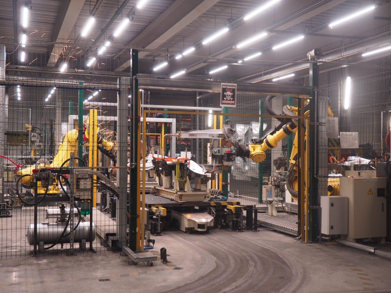 Российскому заводу Nissan 10 лет!