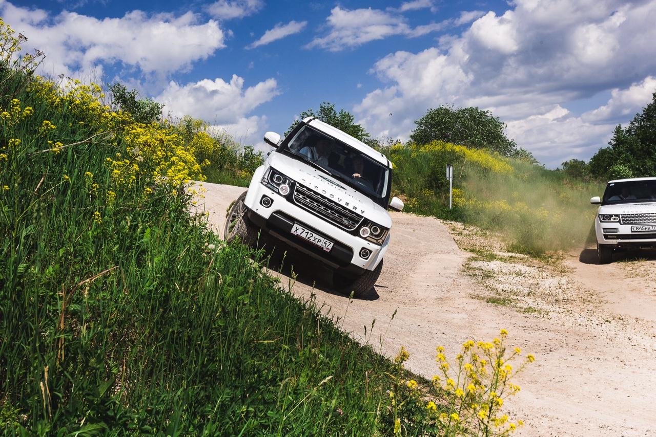 Обновленный полигон Land Rover Experience