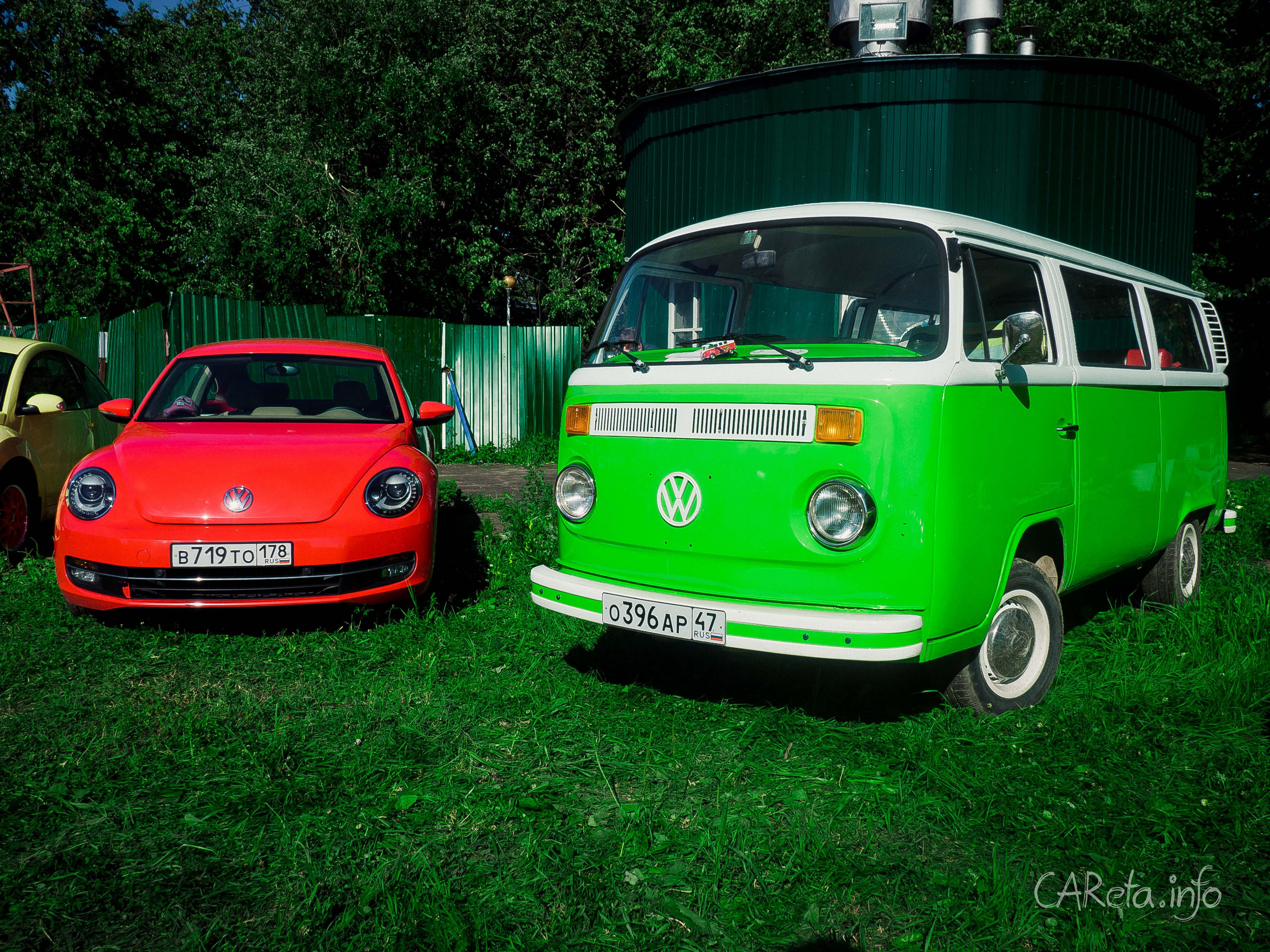 Bughouse Fest: фестиваль для влюбленных в Volkswagen