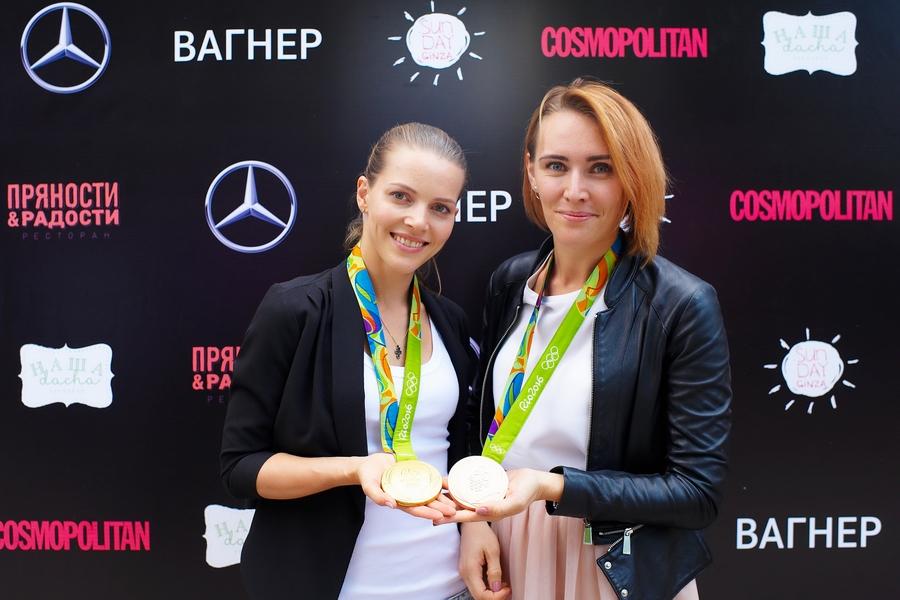 ВАГНЕР и Cosmopolitan приветствуют олимпийцев