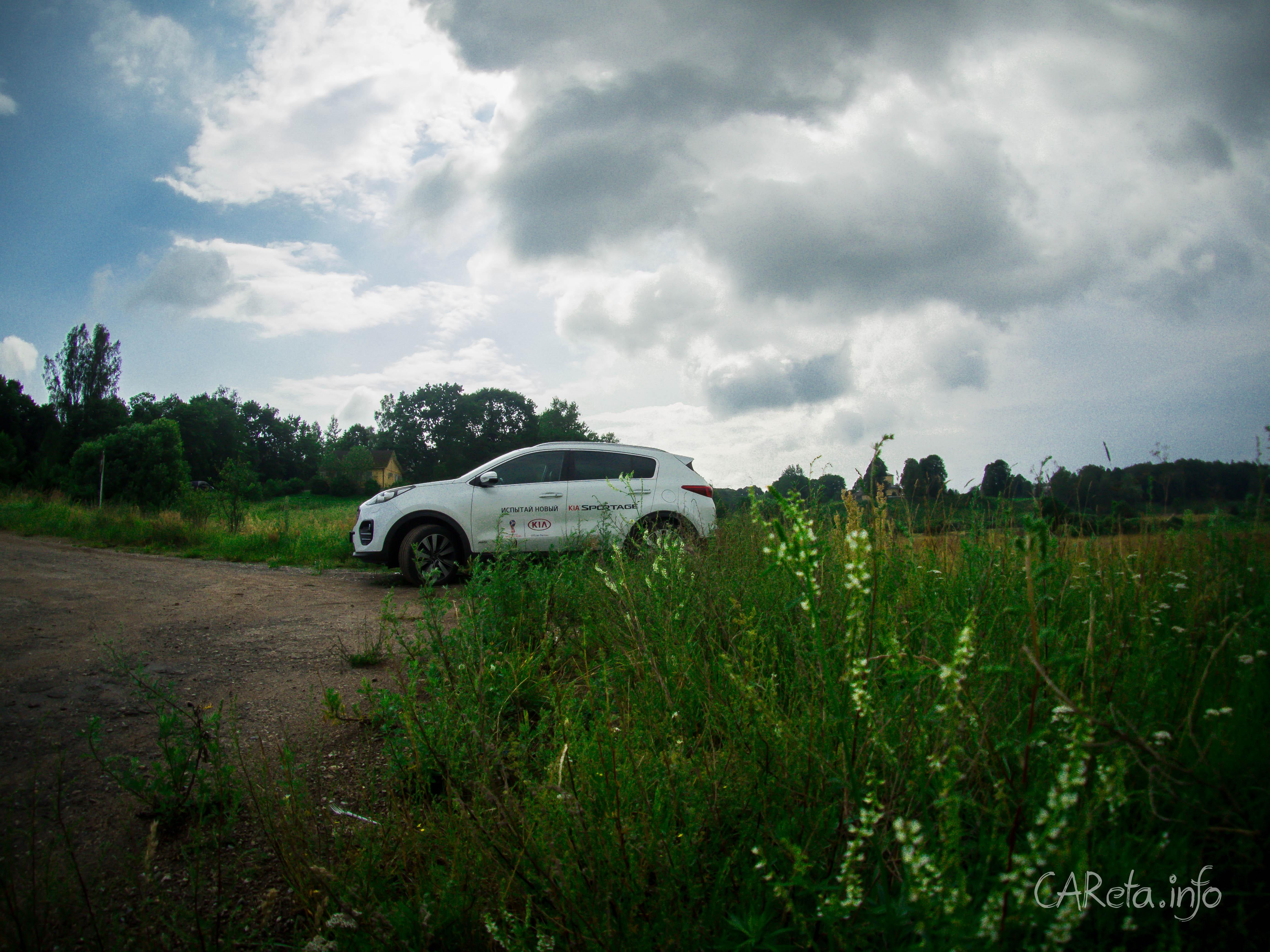 Идеальный автомобиль для путешествий в Пушкинские Горы