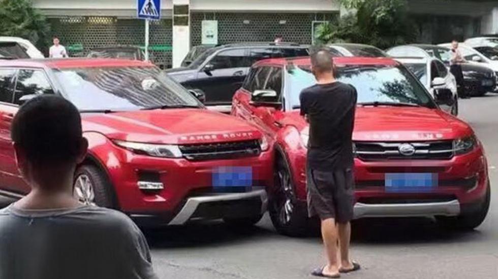 Минутка иронии: RR Evoque в собственном китайском клоне