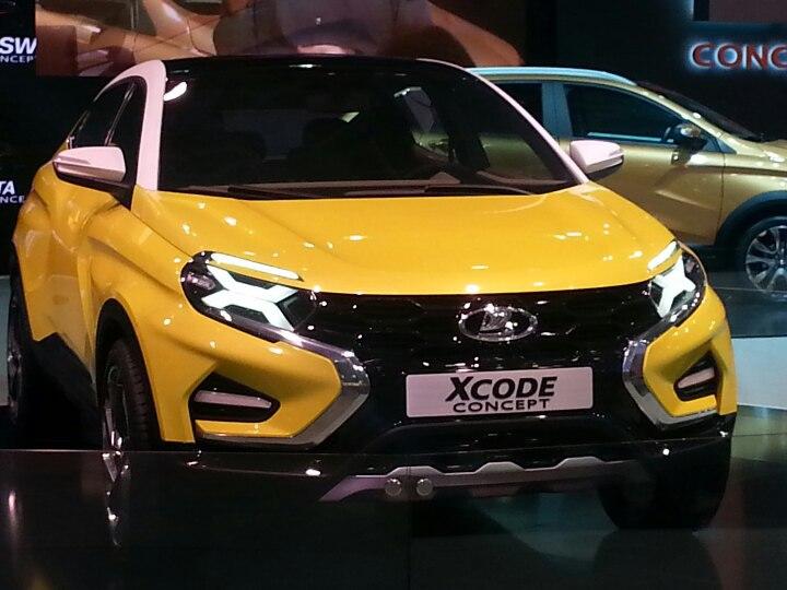 LADA показала концепт новой модели XCode