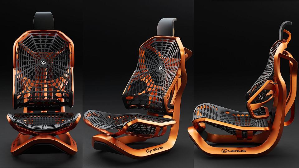 В Lexus разработали идеальное кресло