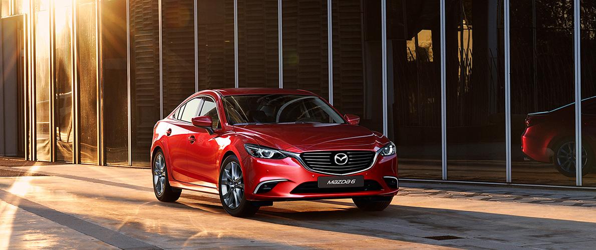 В России стартуют продажи новой Mazda 6