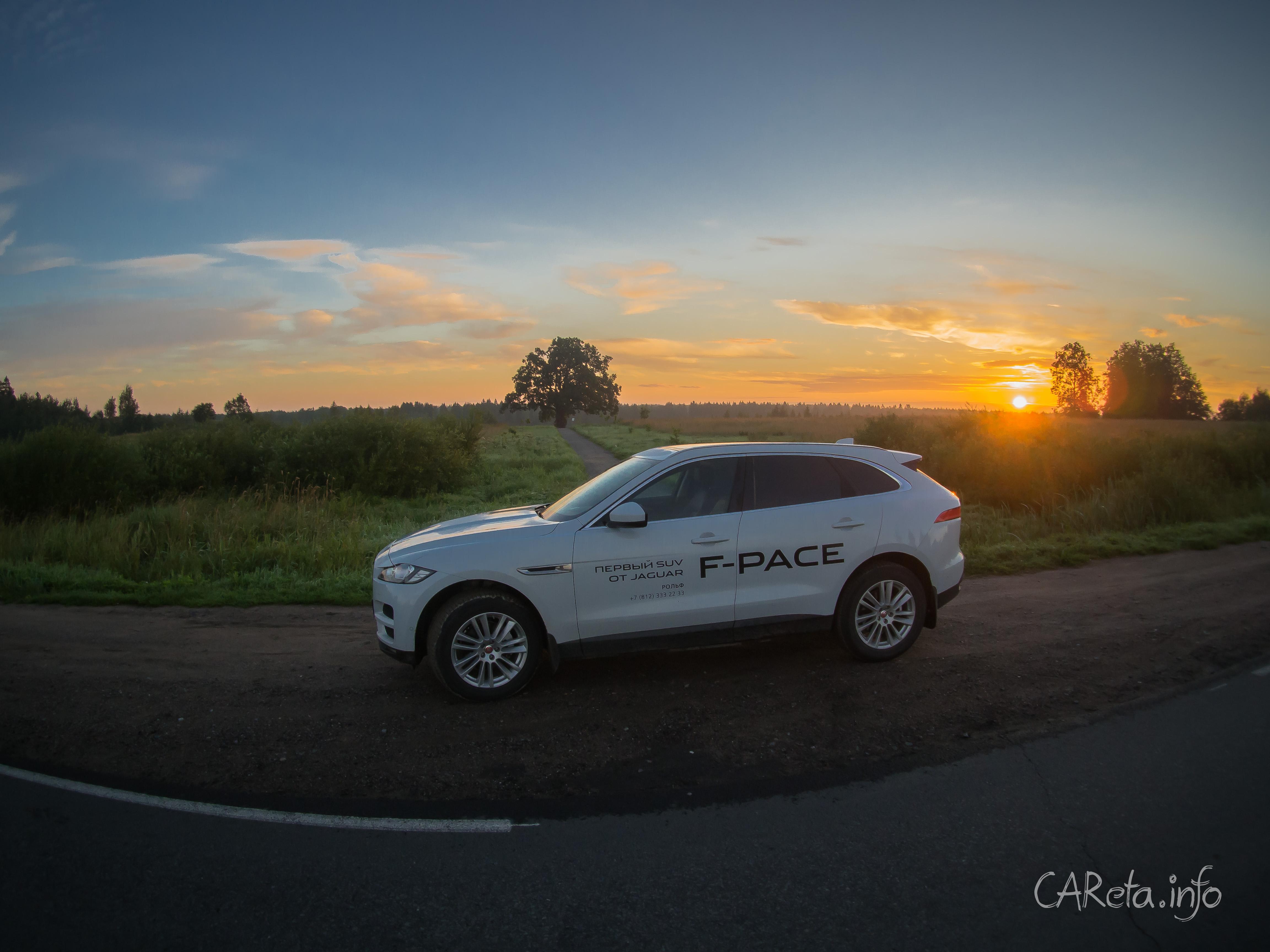 Свидание с бодибилдером. Тест-драйв Jaguar F-Pace