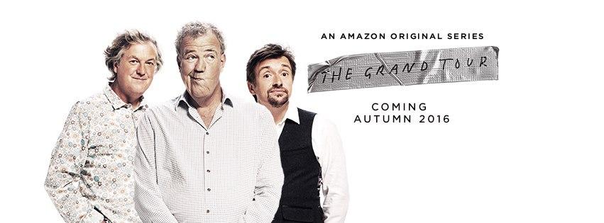 Новое шоу от бывших ведущих Top Gear стартует 18 ноября