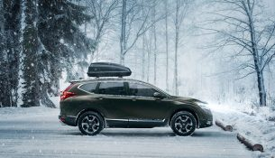 Новый Honda CR-V доберется до России в 2017 году