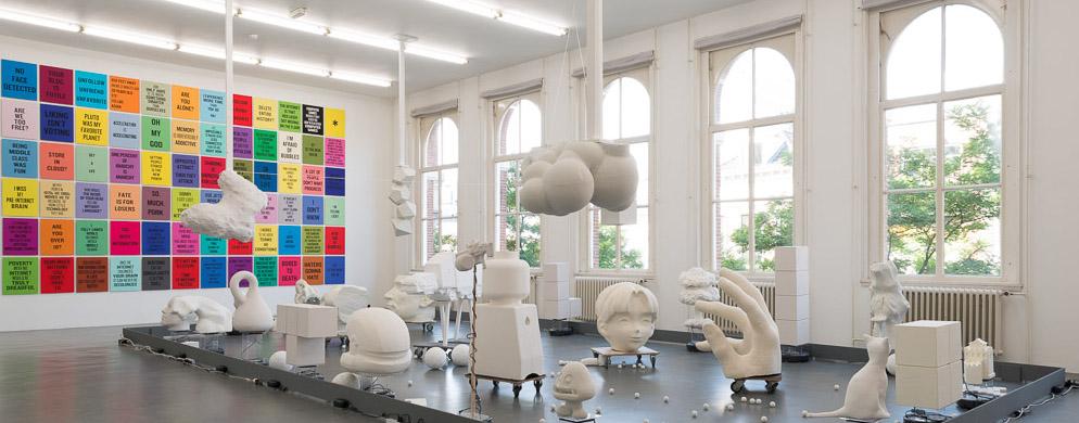 Witte de With Art Centre, Rotterdam, The Netherlands. September 2015