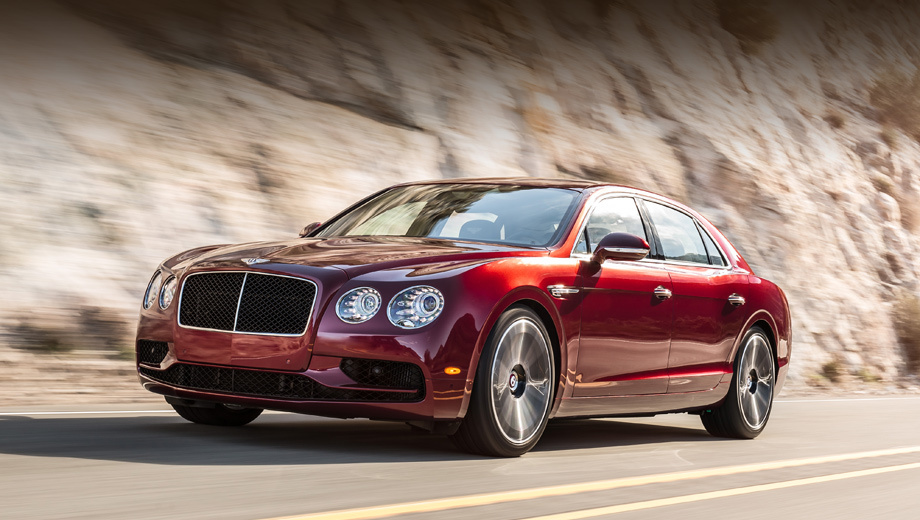 Новый Bentley Flying Spur V8S уже в России