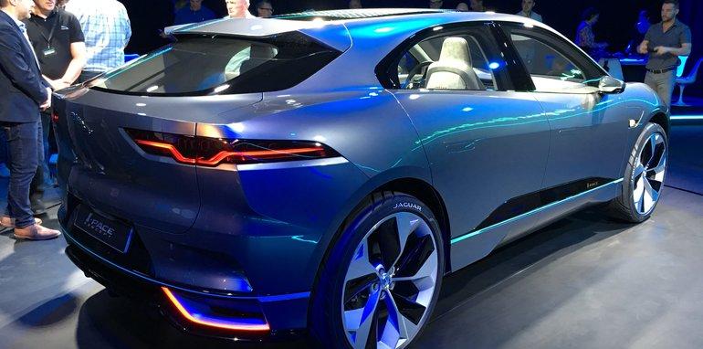 Еще один Pace от Jaguar - теперь на батарейках!