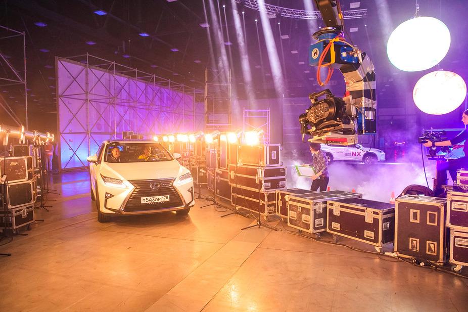 Lexus Live: Свет, камера, моторы!