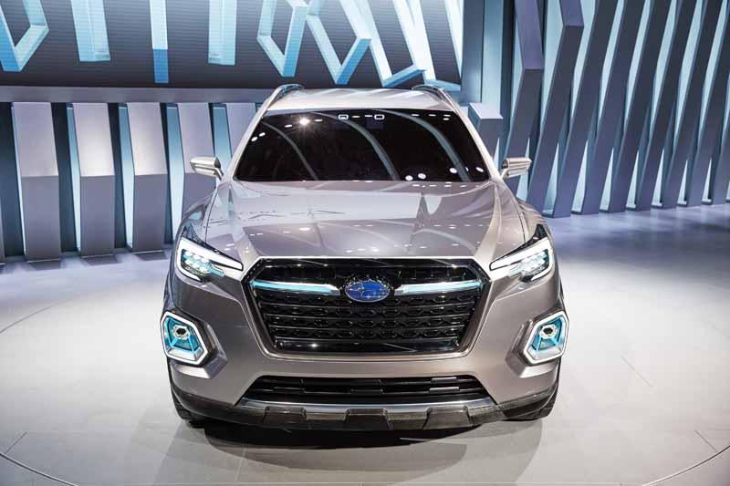 Subaru показал прототип своего самого большого кроссовера
