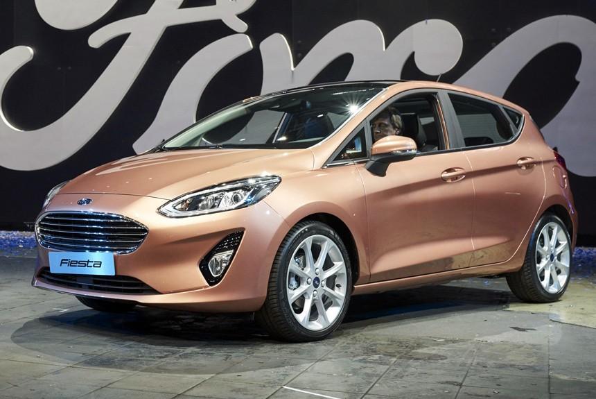 Полностью новый Ford Fiesta