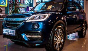 Обновленный Lifan X60 появился в Петербурге