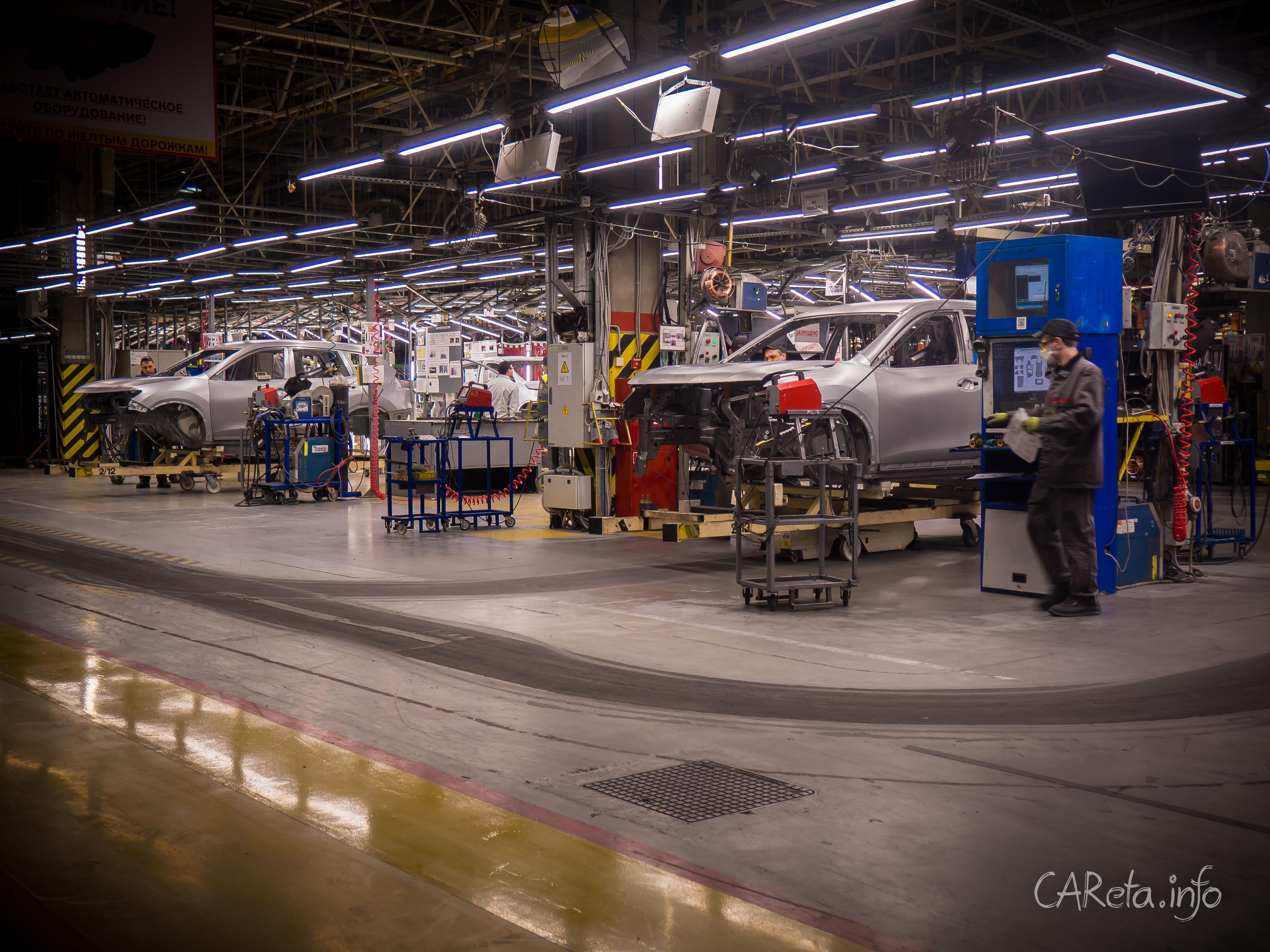 Юбилейный 250 000 Nissan сошел с конвейера в Петербурге