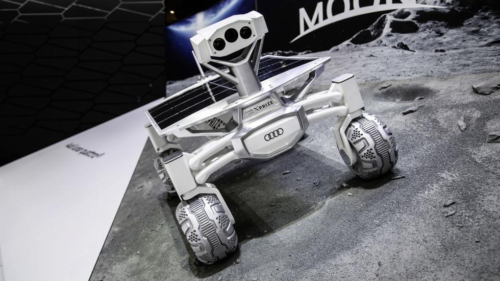 Audi Quattro впереди планеты всей. В прямом смысле