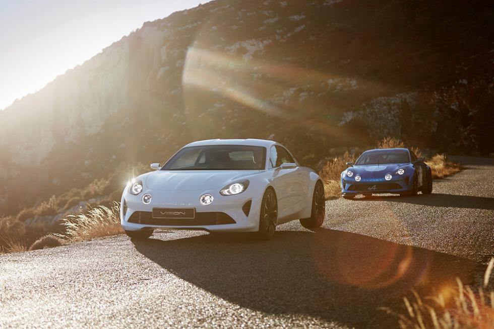 Ждем спорткупе Renault Alpine
