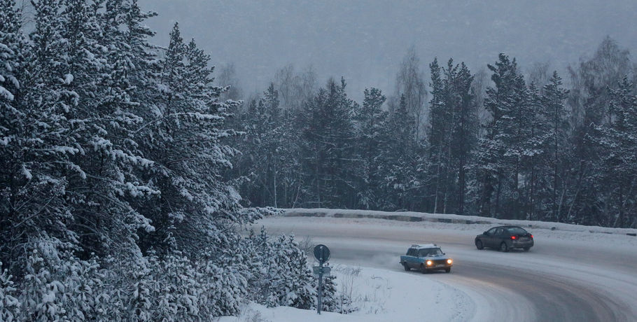 В России из-за морозов закрывают дороги