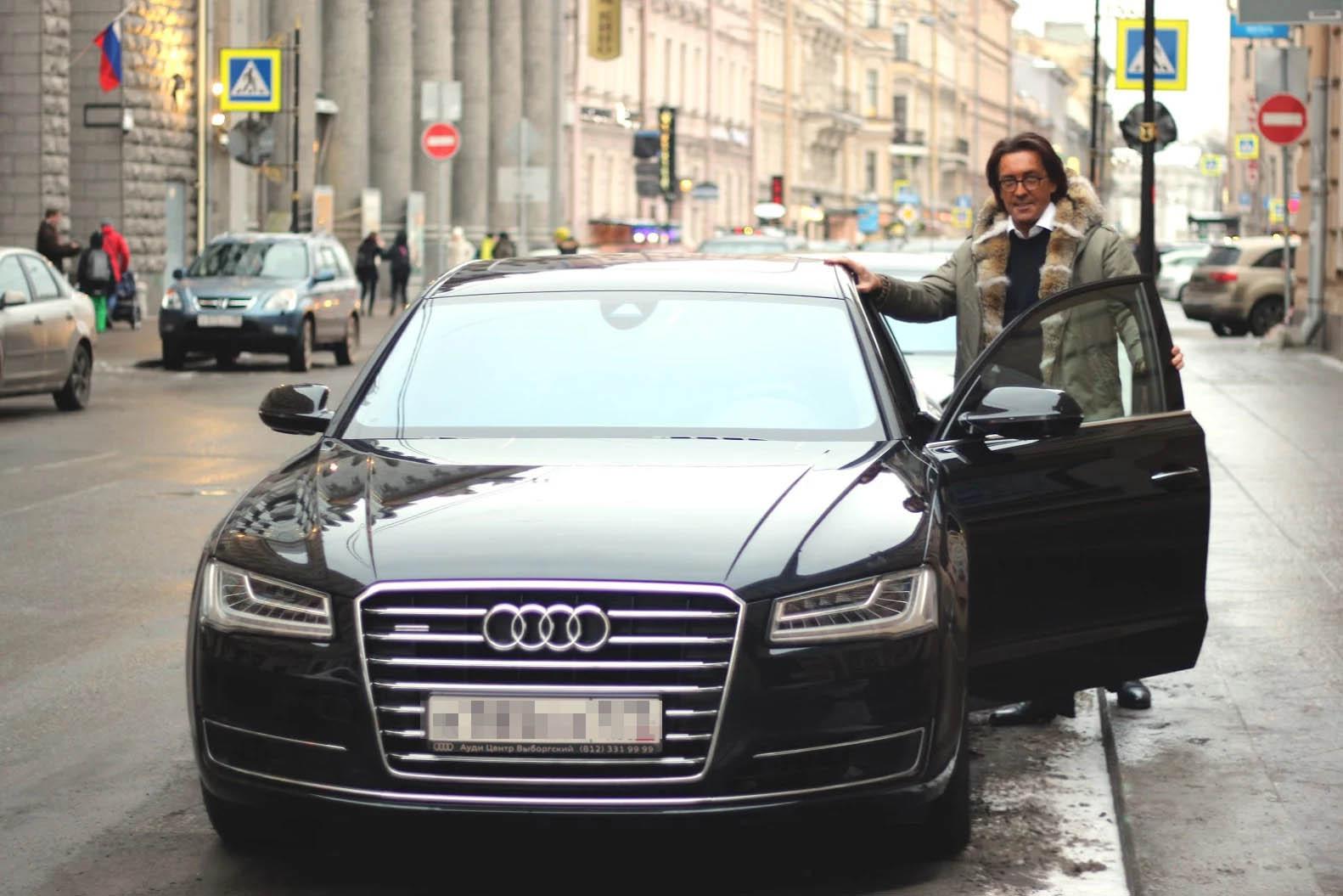 Владелец Ginza Project выбирает Audi!