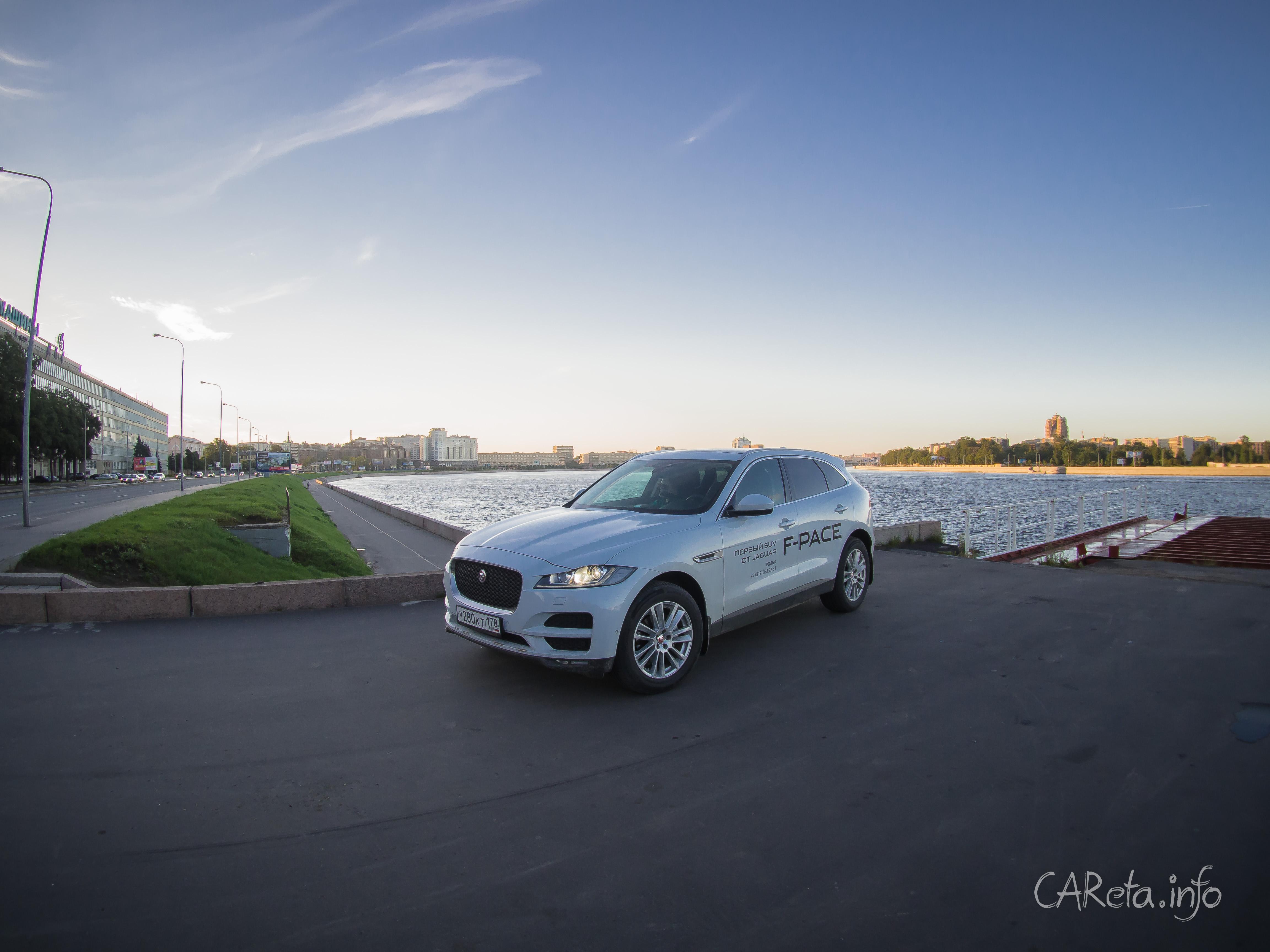 Jaguar увеличил продажи вдвое благодаря F-Pace