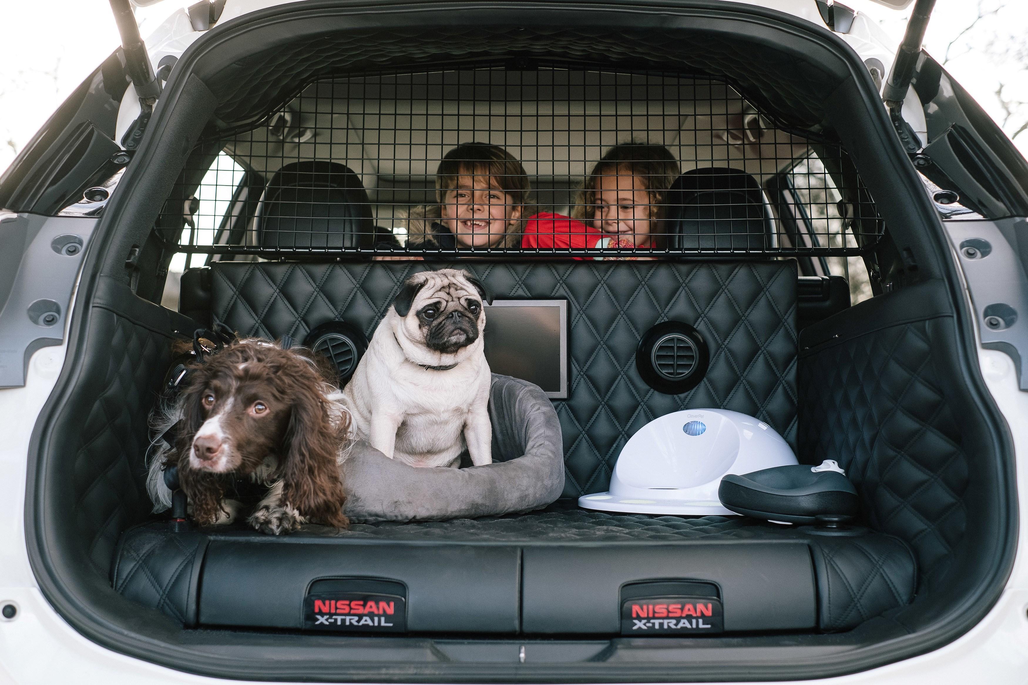 Nissan создал спецверсию X-Trail для владельцев собак