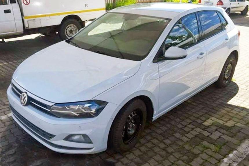 Новый Volkswagen Polo сфотографировали в ЮАР