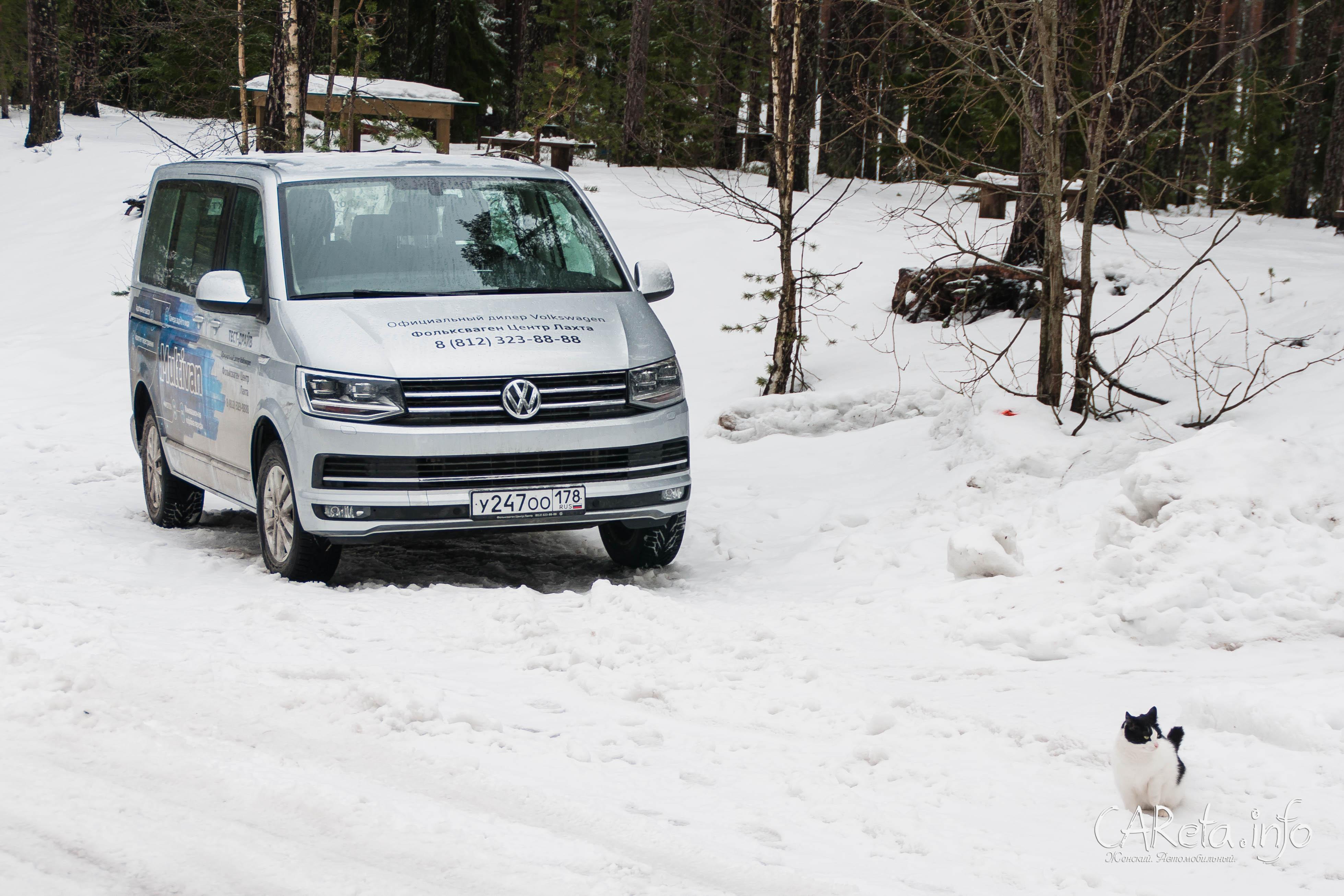 Тест-драйв VW Multivan: повзрослевший хиппи