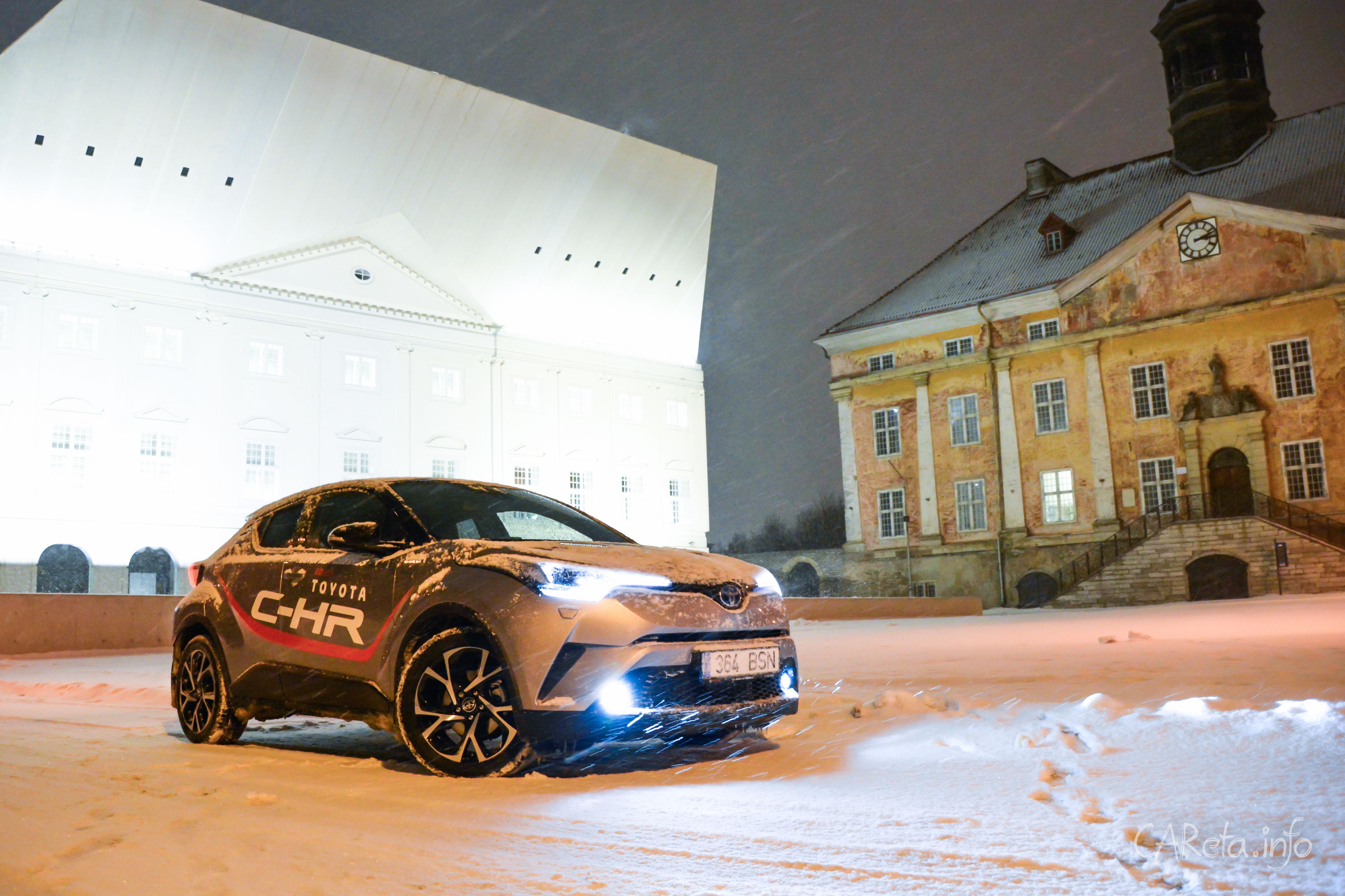 Toyota C-HR будет продаваться в России