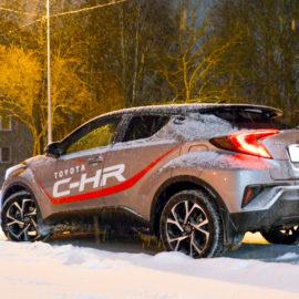 Тест-драйв Toyota C-HR: идеальный качок для России