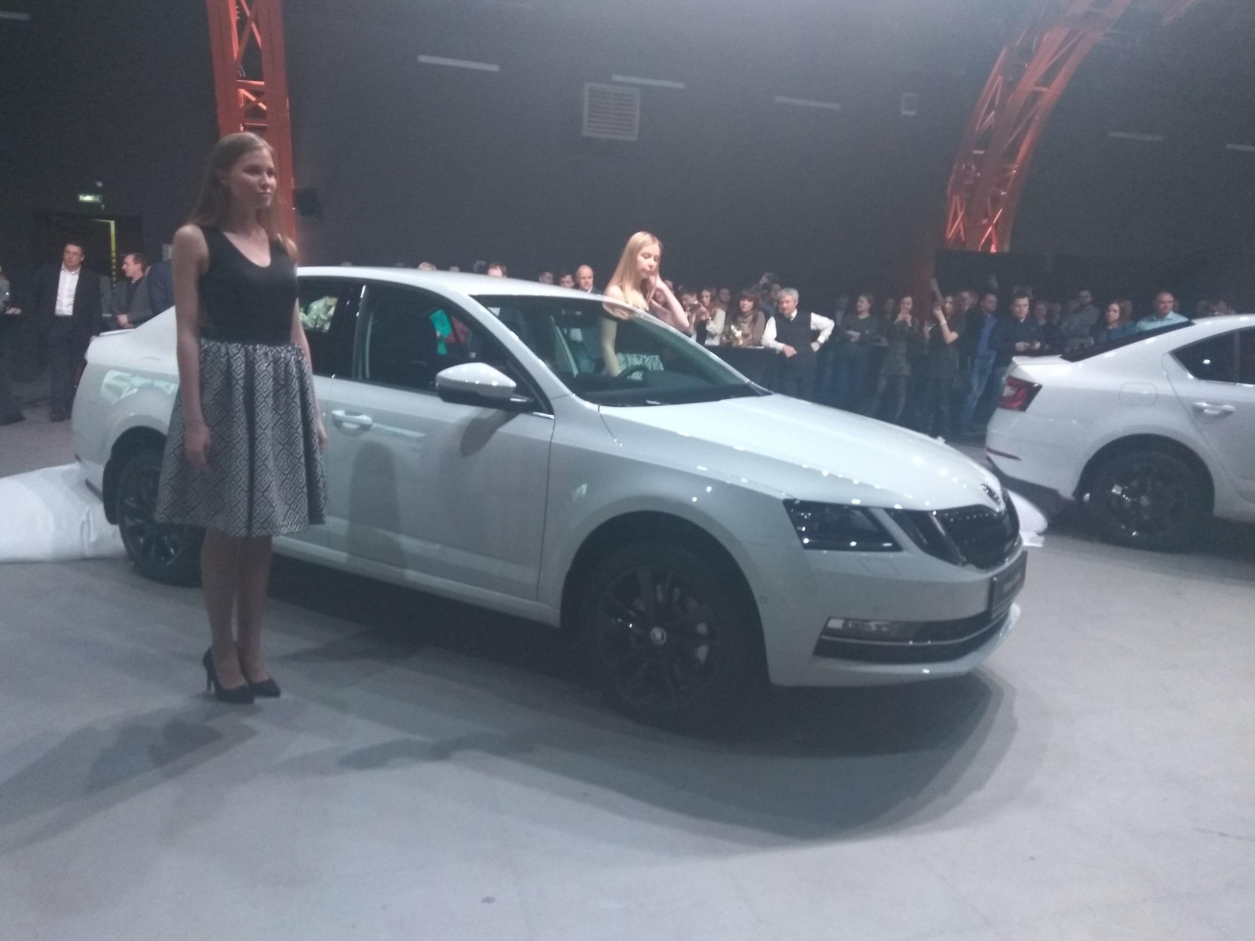 Тизер новой Skoda Octavia