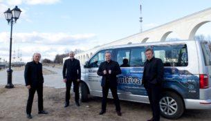 Volkswagen Multivan – Терем для  Квартета
