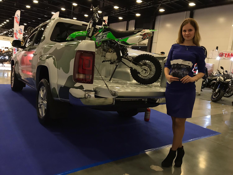 На IMIS 2017 - не только мотоциклы: участие приняли Фольксваген Центры ГК Вагнер