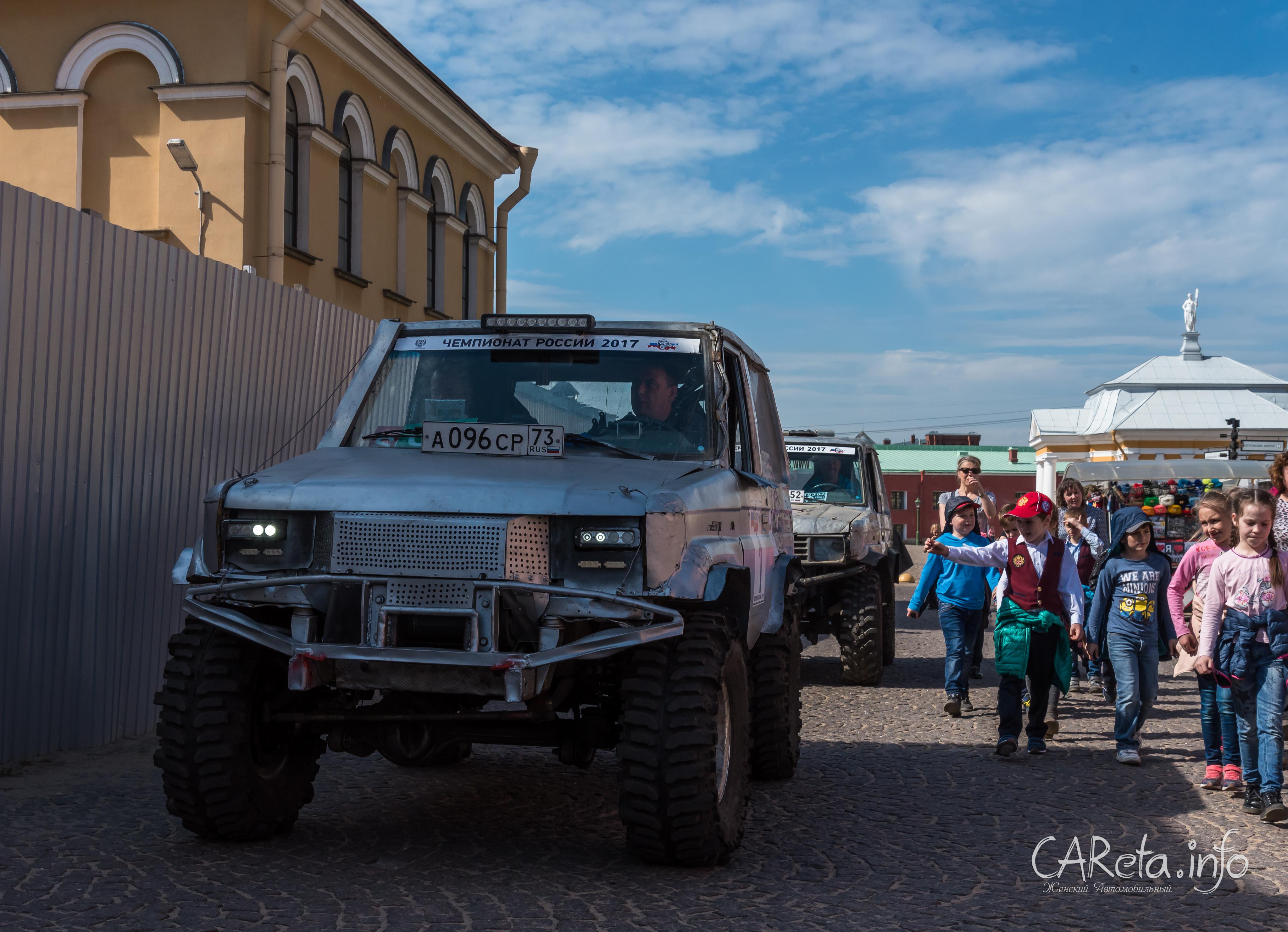 Чемпионат России по трофи-рейдам: старт дан в сердце Санкт-Петербурга