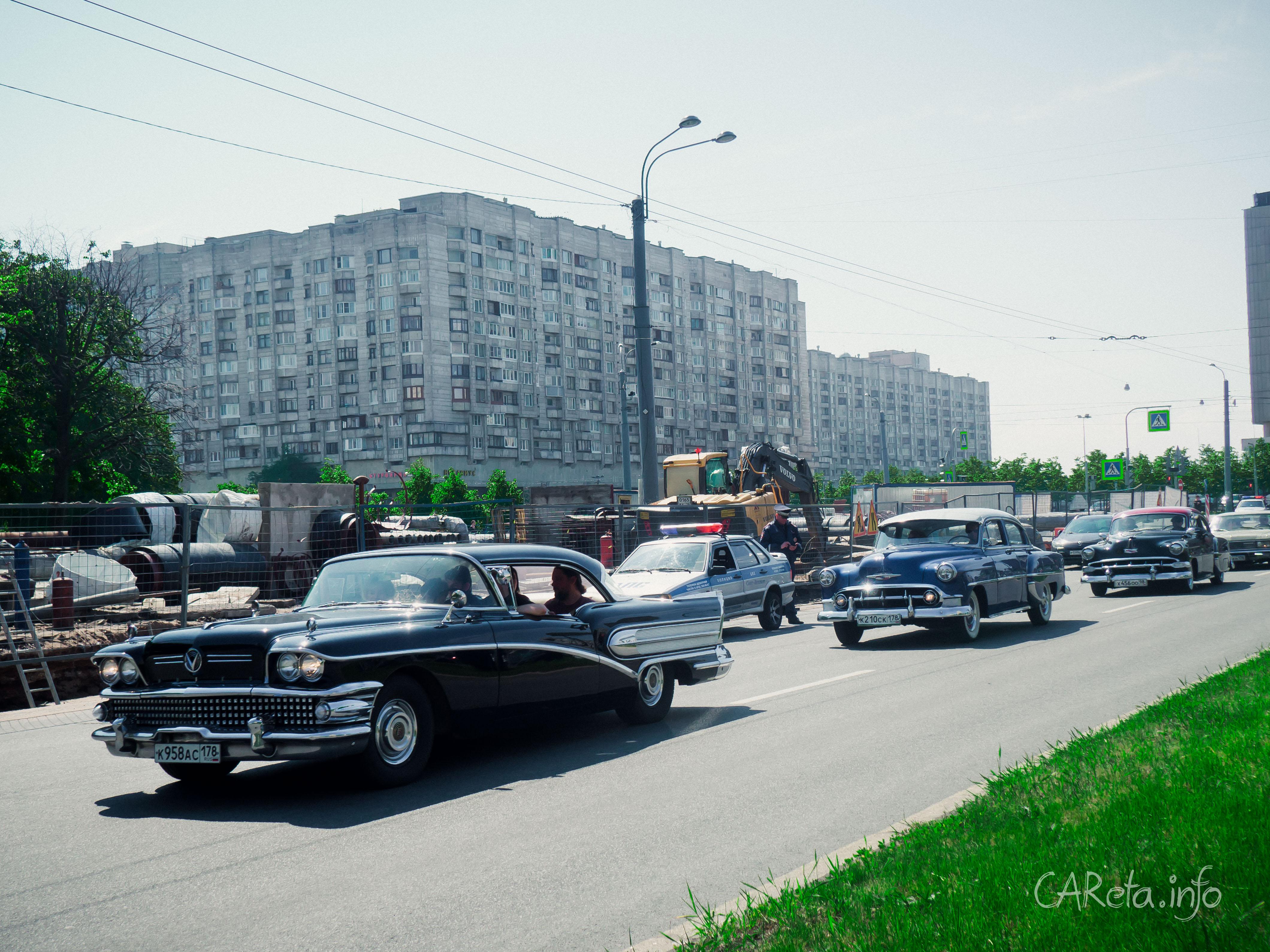 "Ретро-парад ""Между прошлым и будущим"" ко Дню города"