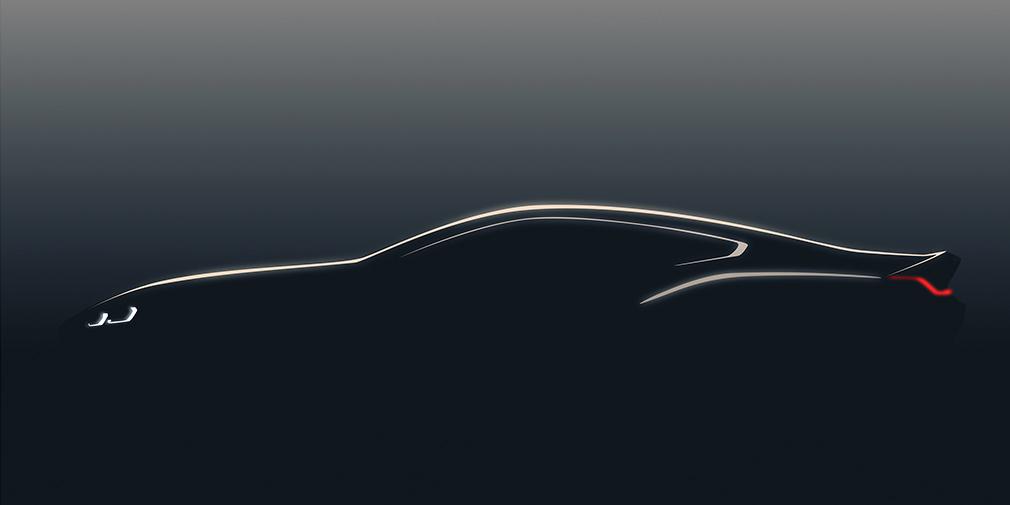 BMW восьмой серии - и снова тизер!