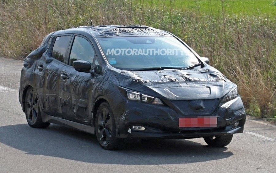 Новый Nissan Leaf - да, опять тизер!