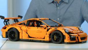 Краш-тест Porsche...из Lego