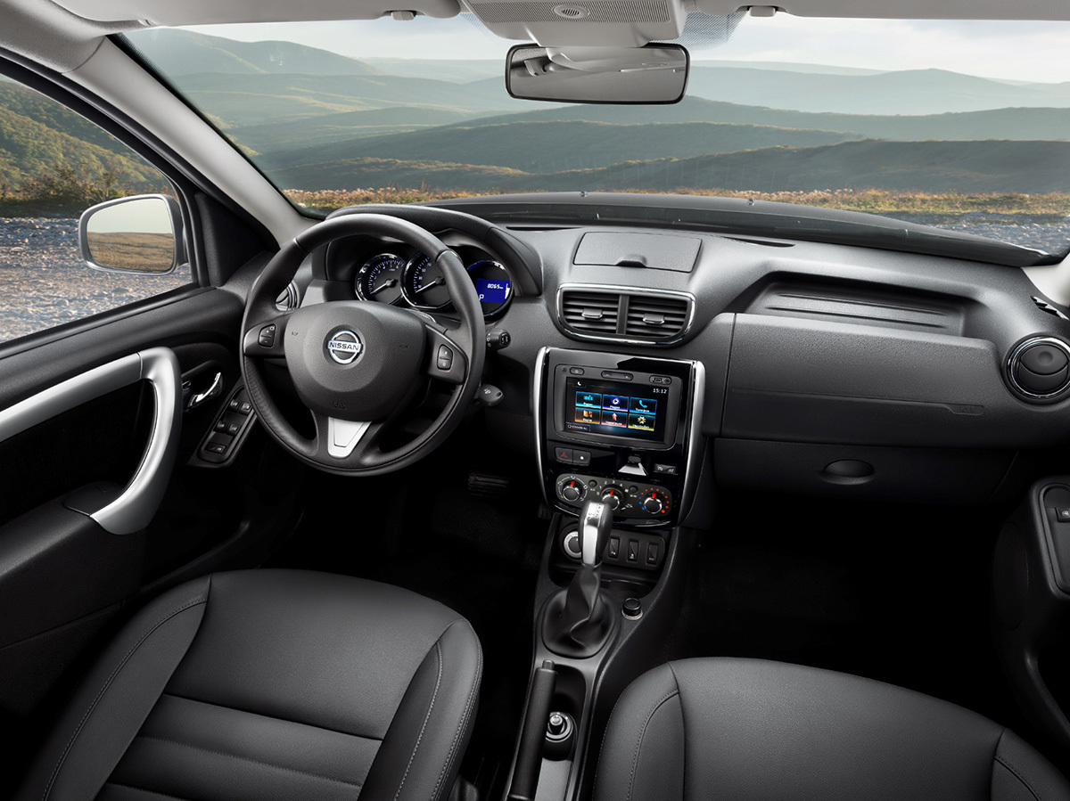 Nissan Terrano обновил интерьер